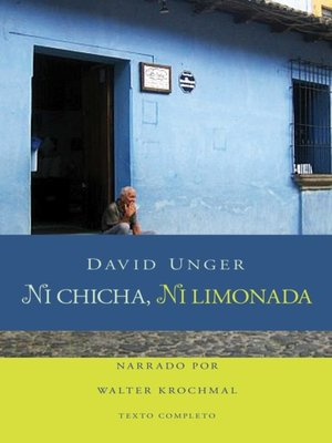 cover image of Ni chicha, ni limonda