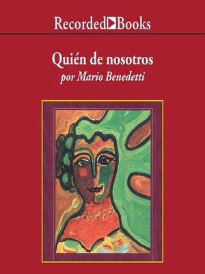 cover image of Quien de Nosotros