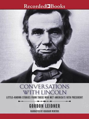 cover image of Conversations with Lincoln