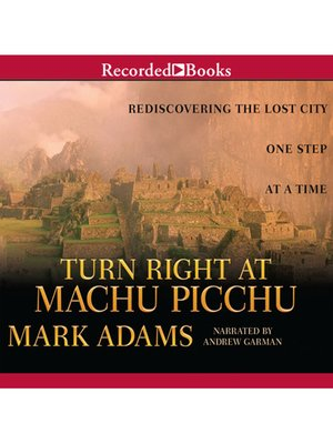 cover image of Turn Right at Machu Picchu