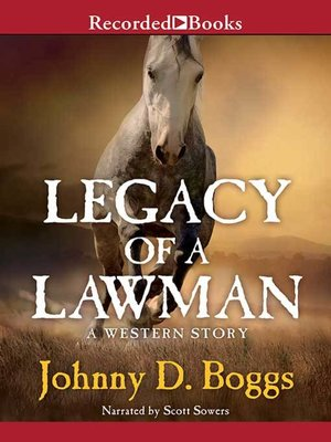 cover image of Legacy of a Lawman