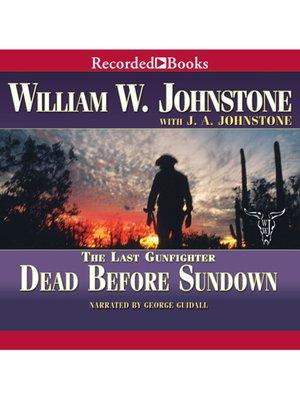 cover image of Dead Before Sundown