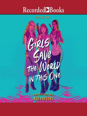 cover image of Girls Save the World in This One
