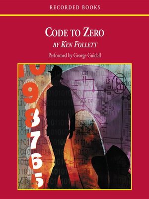 """cover image of Code to Zero """"International Edition"""""""