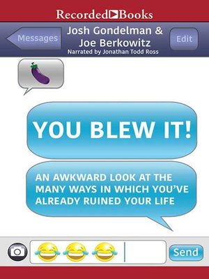 cover image of You Blew It!