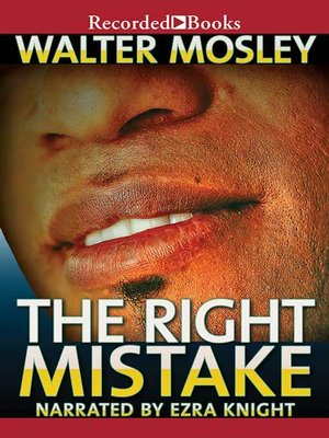 cover image of The Right Mistake