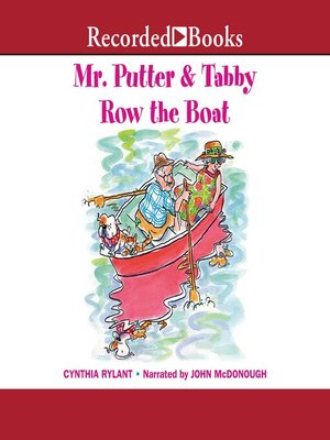 cover image of Mr. Putter & Tabby Row the Boat