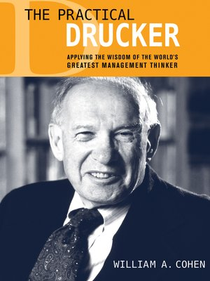 cover image of The Practical Drucker