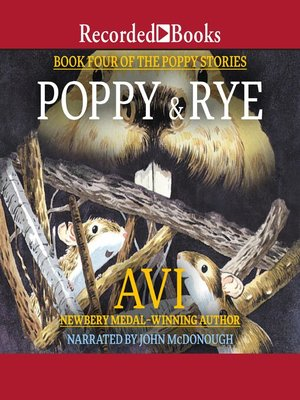 cover image of Poppy and Rye