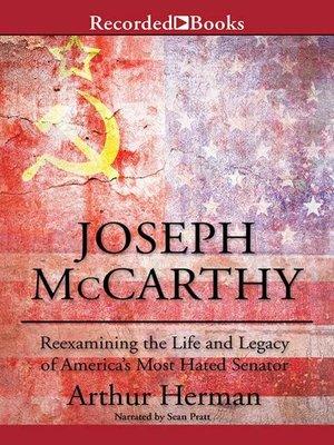 cover image of Joseph McCarthy