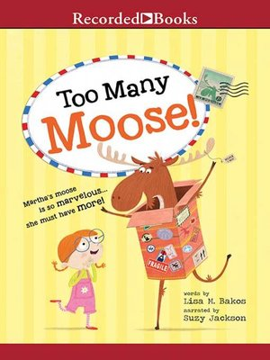 cover image of Too Many Moose