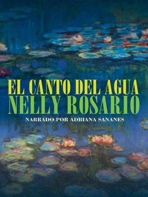 cover image of Canto del agua