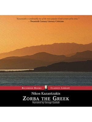 cover image of Zorba the Greek