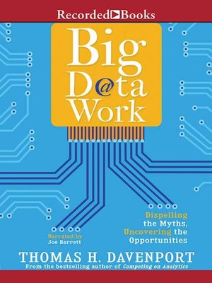 cover image of Big Data at Work