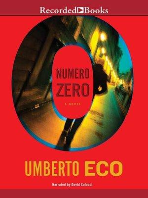 cover image of Numero Zero