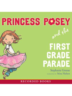 cover image of Princess Posey and the First Grade Parade