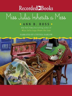 cover image of Miss Julia Inherits a Mess