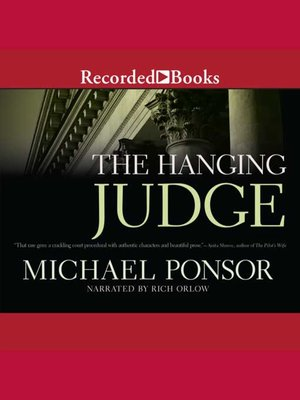 cover image of The Hanging Judge