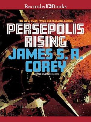cover image of Persepolis Rising