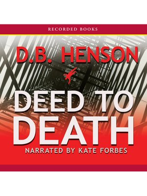 cover image of Deed to Death