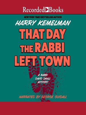 cover image of The Day the Rabbi Left Town