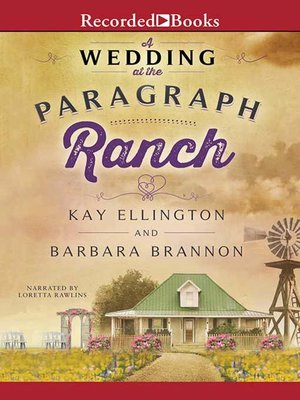 cover image of A Wedding at the Paragraph Ranch