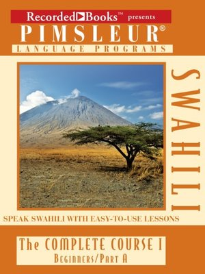 cover image of Swahili IA