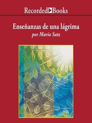 cover image of Enseñanzas de una lágrima