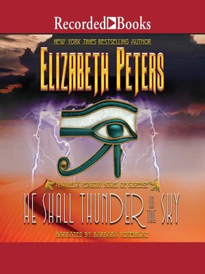 cover image of He Shall Thunder in the Sky