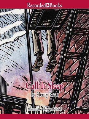cover image of Call It Sleep