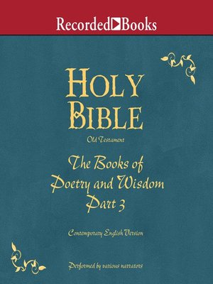 cover image of Part 3, Holy Bible Books of Poetry and Wisdom-Volume 13
