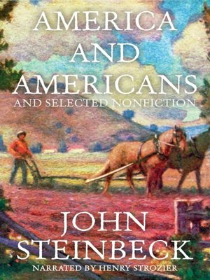cover image of America and Americans