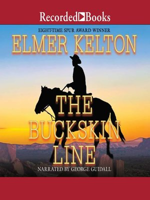cover image of The Buckskin Line