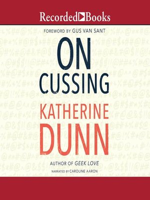 cover image of On Cussing