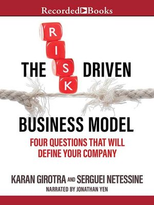 cover image of The Risk-Driven Business Model