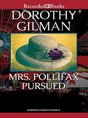 cover image of Mrs. Pollifax Pursued