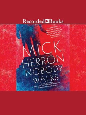 cover image of Nobody Walks
