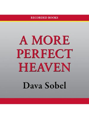cover image of A More Perfect Heaven