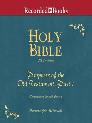 cover image of Holy Bible Prophets-Part 1 Volume 14
