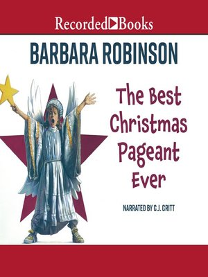 cover image of The Best Christmas Pageant Ever