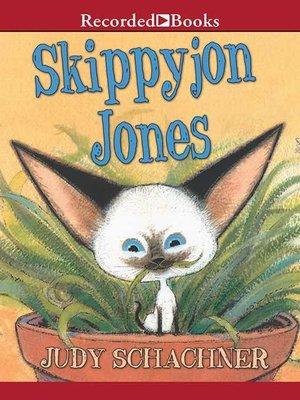 cover image of Skippyjon Jones