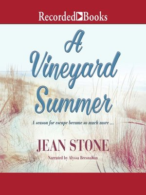 cover image of A Vineyard Summer