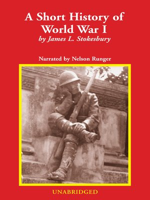 cover image of A Short History of World War I