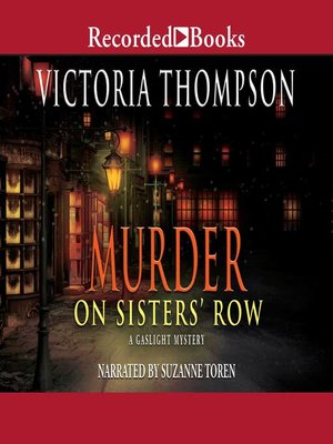 cover image of Murder on Sister's Row