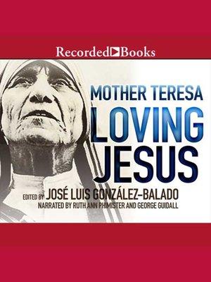 cover image of Loving Jesus