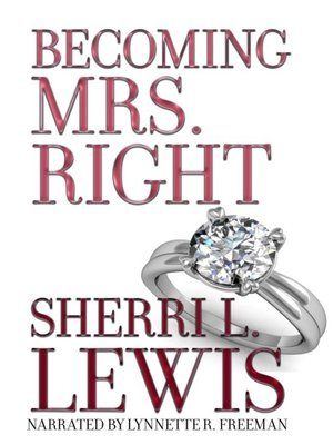 cover image of Becoming Mrs. Right