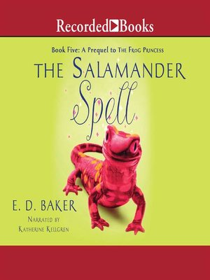 cover image of The Salamander Spell