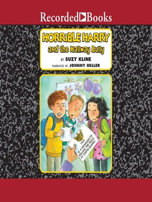 cover image of Horrible Harry and the Hallway Bully