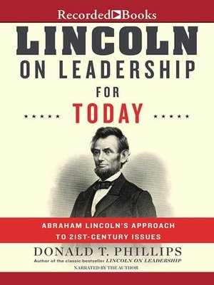 cover image of Lincoln on Leadership for Today