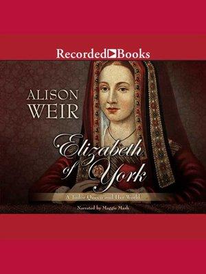 cover image of Elizabeth of York